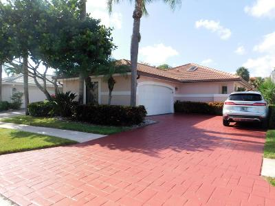 Delray Beach Single Family Home For Sale: 7803 Glen Garry Lane
