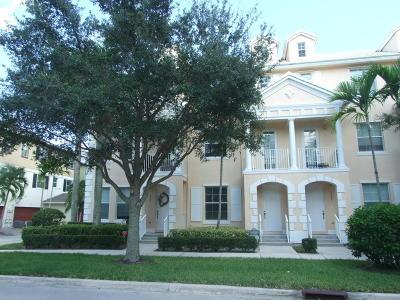 Jupiter Townhouse For Sale: 1526 Corbison Point Place