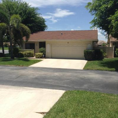 Boynton Beach Single Family Home For Sale: 1 Islington Place