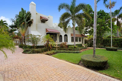West Palm Beach Single Family Home For Sale: 412 35th Street