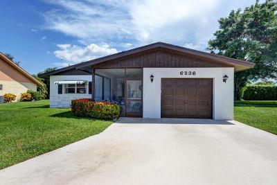Delray Beach Single Family Home For Sale: 6236 Stanley Lane