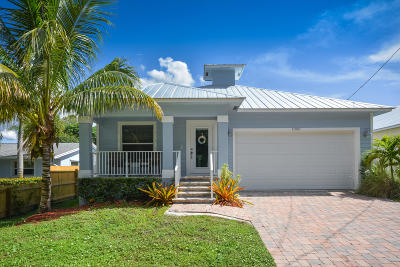 Palm City Single Family Home For Sale: 1008 SW 28th Street