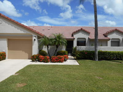 Boynton Beach Single Family Home For Sale: 5939 Parkwalk Circle W