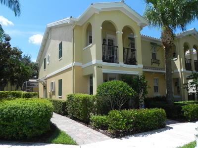 Jupiter Townhouse For Sale: 1824 Jeaga Drive