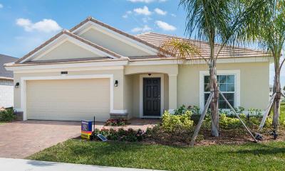 Port Saint Lucie Single Family Home For Sale: 11366 SW Halton Street