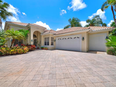 Palm Beach Gardens Single Family Home For Sale: 3334 Degas Drive W