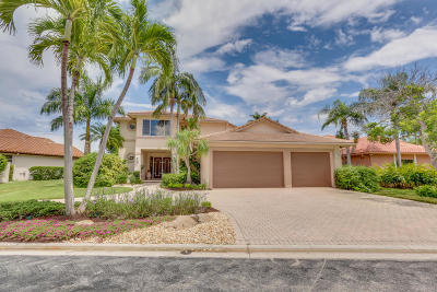 Boynton Beach Single Family Home For Sale: 18 Sutton Drive