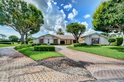 Delray Beach Single Family Home For Sale: 4534 Wildewood Drive