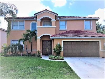 Lake Worth Single Family Home For Sale: 5859 La Gorce Circle