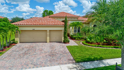 Wellington FL Single Family Home For Sale: $549,900