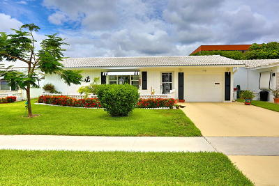 Boynton Beach Single Family Home For Sale: 1701 SW 22nd Street