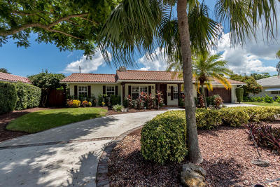 Boca Raton FL Single Family Home For Sale: $620,000
