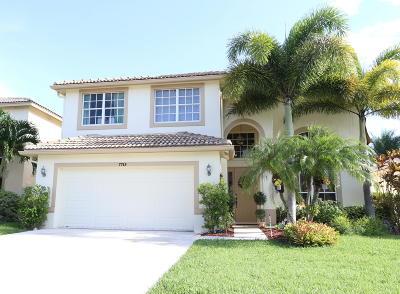 Boynton Beach Single Family Home For Sale: 7715 Colony Lake Drive