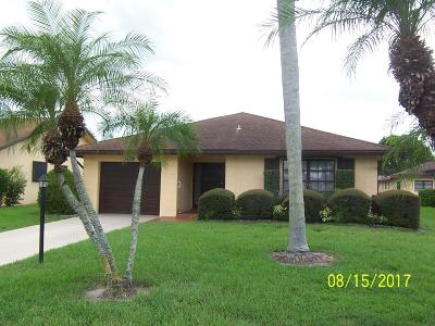 Greenacres Single Family Home For Sale: 3439 Shadow Wood Drive