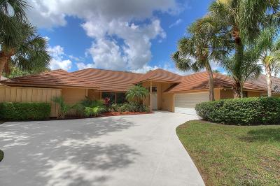Jupiter Single Family Home For Sale: 6420 Longleaf Pine Drive