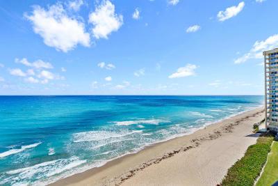Singer Island Condo For Sale: 5480 Ocean Drive #A-8-B