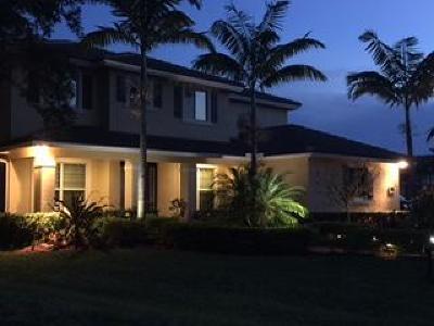 Jensen Beach Single Family Home For Sale: 340 NE Abaca Way