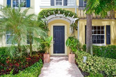 West Palm Beach Townhouse For Sale: 315 Flamingo Drive