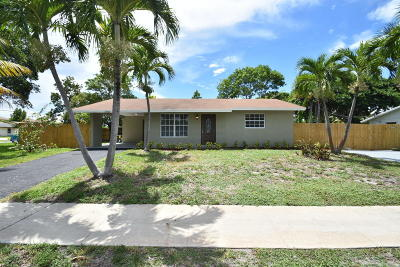 Boynton Beach Single Family Home For Sale: 3409 SE 4th Street