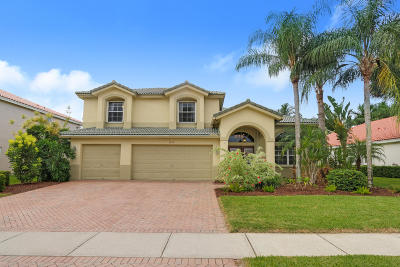 Wellington FL Single Family Home For Sale: $534,900