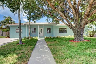 Lantana Single Family Home For Sale: 132 S 11th St