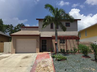 Delray Beach Single Family Home For Sale: 15871 SW 8th Avenue SW