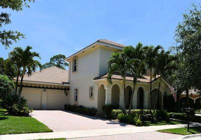Jupiter Single Family Home For Sale: 144 Via Veracruz