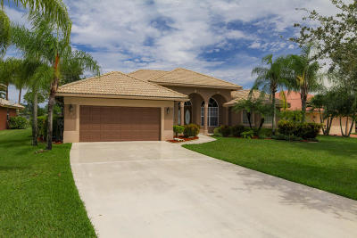 Royal Palm Beach Single Family Home For Sale: 198 Cypress Trace
