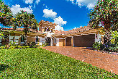 Palm City Single Family Home For Sale: 643 SW Squire Johns Lane
