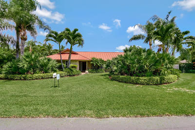 Tequesta Single Family Home Contingent: 11 SE Turtle Creek Drive