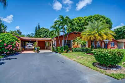 Boynton Beach Single Family Home For Sale: 535 SE 5th Circle #14b