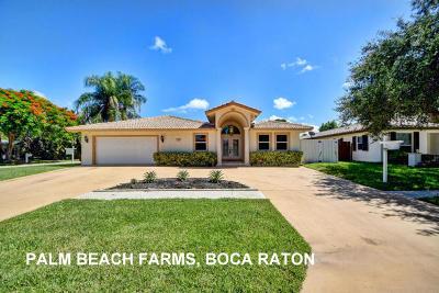 Palm Beach Farms, Palm Beach Farms Co 10 Of North Deerfield Pb6p1 Single Family Home For Sale: 1300 SW 20th Street
