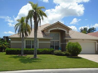 Boynton Beach Single Family Home For Sale: 4394 Sunset Cay Circle