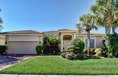 Lake Worth Single Family Home For Sale: 9272 Caserta Street