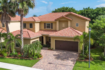 Wellington FL Single Family Home For Sale: $519,000