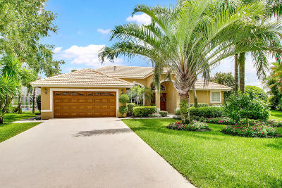 Jupiter Single Family Home For Sale: 526 Quail Point