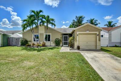 Boca Raton Single Family Home For Sale: 9810 Ridgecreek Road