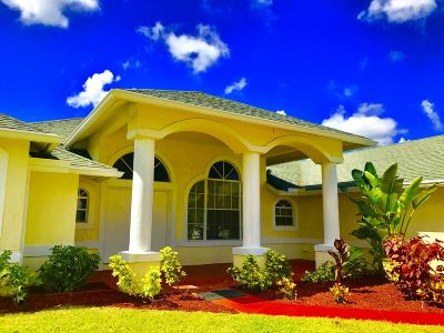 West Palm Beach Single Family Home For Sale: 13212 82nd Street