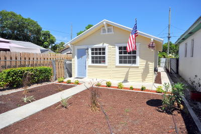 Lake Worth Single Family Home For Sale: 404 D Street