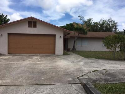 Lake Worth Single Family Home For Sale: 2157 Hypoluxo Road