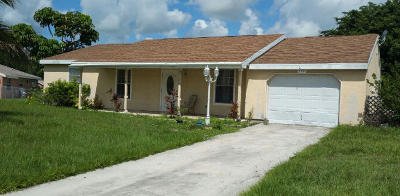 Port Saint Lucie Single Family Home For Sale: 279 SW Bridgeport Drive