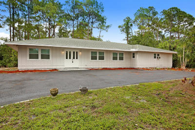 Jupiter Single Family Home For Sale: 13109 169th Court