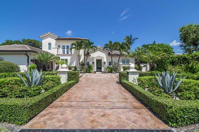 Palm Beach Single Family Home For Sale: 2227 Ibis Isle Road E