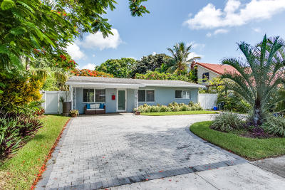 Boca Raton Single Family Home For Sale: 351 SW 2nd Street