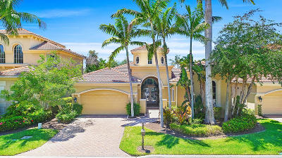 Palm Beach Gardens Single Family Home For Sale: 147 Monte Carlo Drive