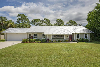 Palm City Single Family Home For Sale: 3837 SW Sailfish Drive