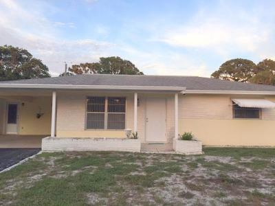Jupiter Single Family Home For Sale: 1519 Treemont Avenue