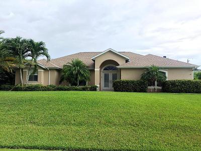 Port Saint Lucie Single Family Home For Sale: 2607 SE Emmett Road