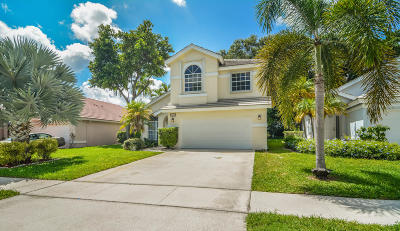 Lake Worth Single Family Home For Sale: 7434 Ashley Shores Circle