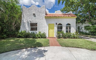 West Palm Beach Single Family Home For Sale: 621 Lytle Street